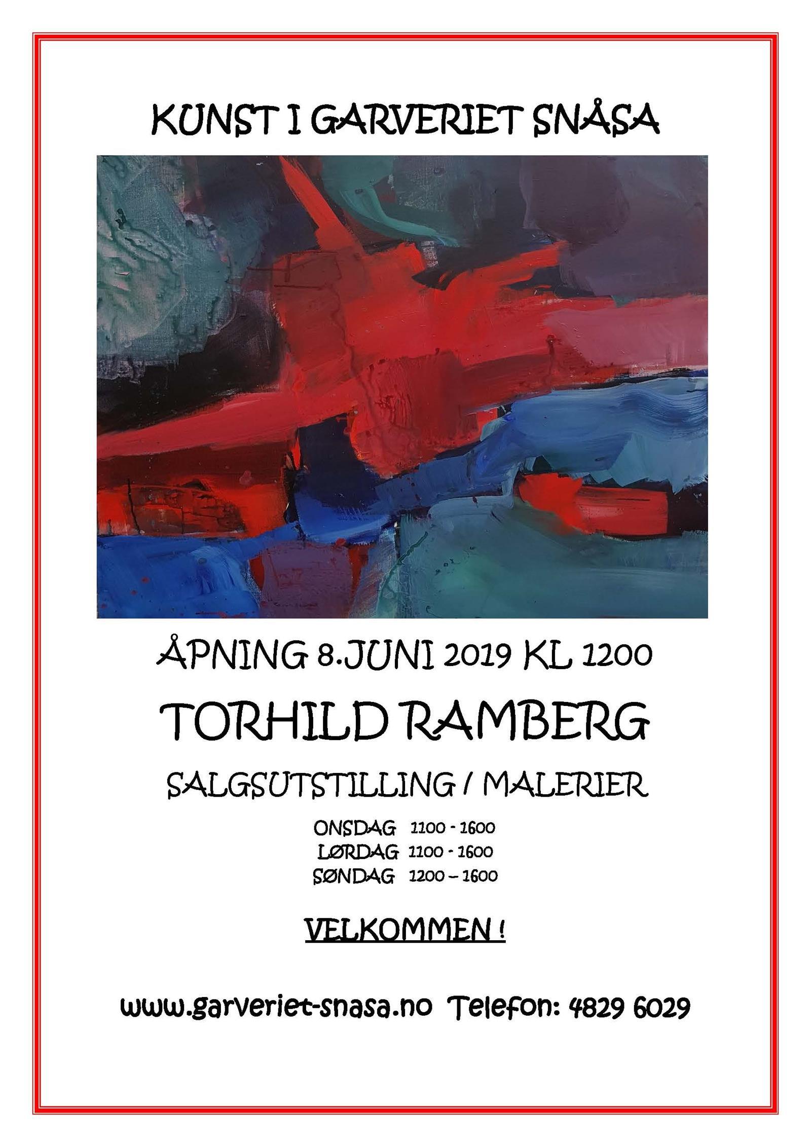 Kunst i Garveriet i Snåsa