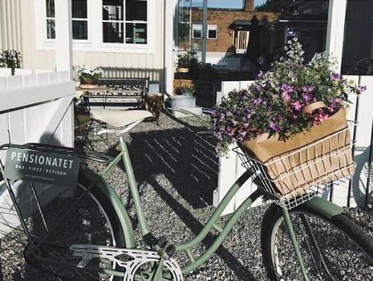 Pensionatets cykelentré, Pensionatet