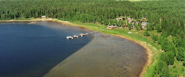 Flygbild Koskäret, Vargön, PK