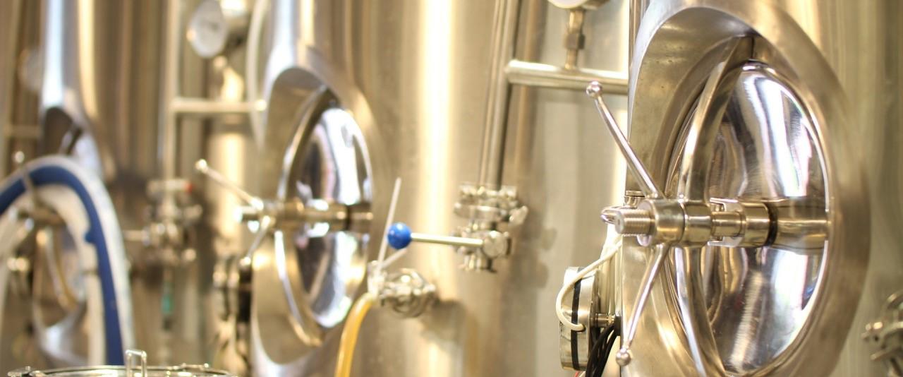 Bryggning av öl pågår