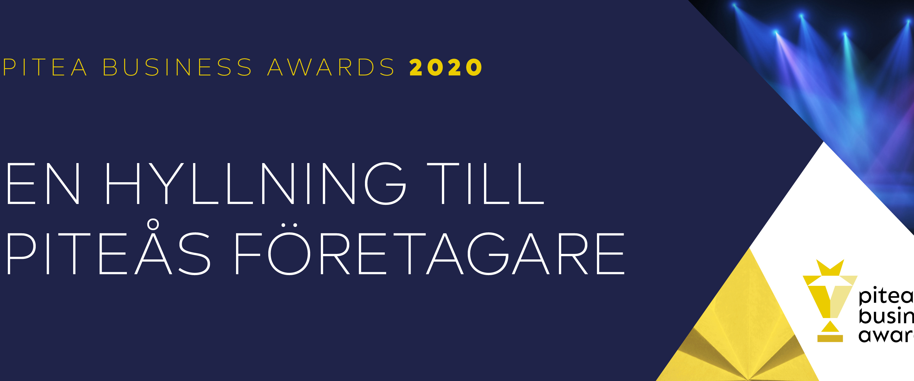 Piteå business awards 2020 logotyp