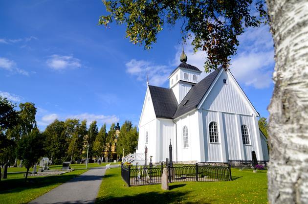 Piteå kyrka Foto Emma Larsson