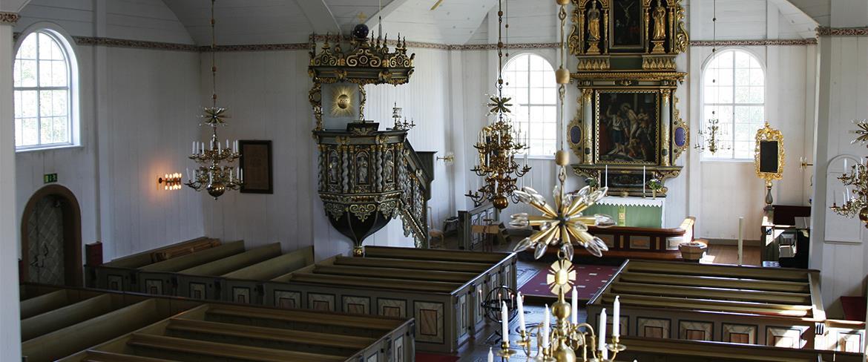 Piteå kyrka interiör