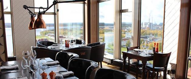 Utsikt från Restaurang Tage, Kust Hotell