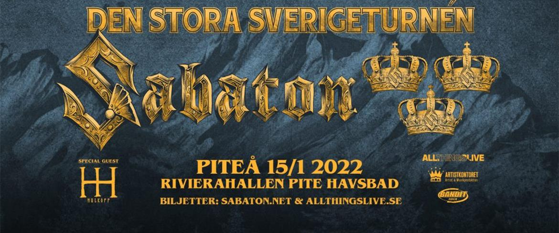 Sabaton affisch