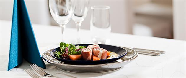 Dukning, Sikfors Konferens och fritidsby restaurang