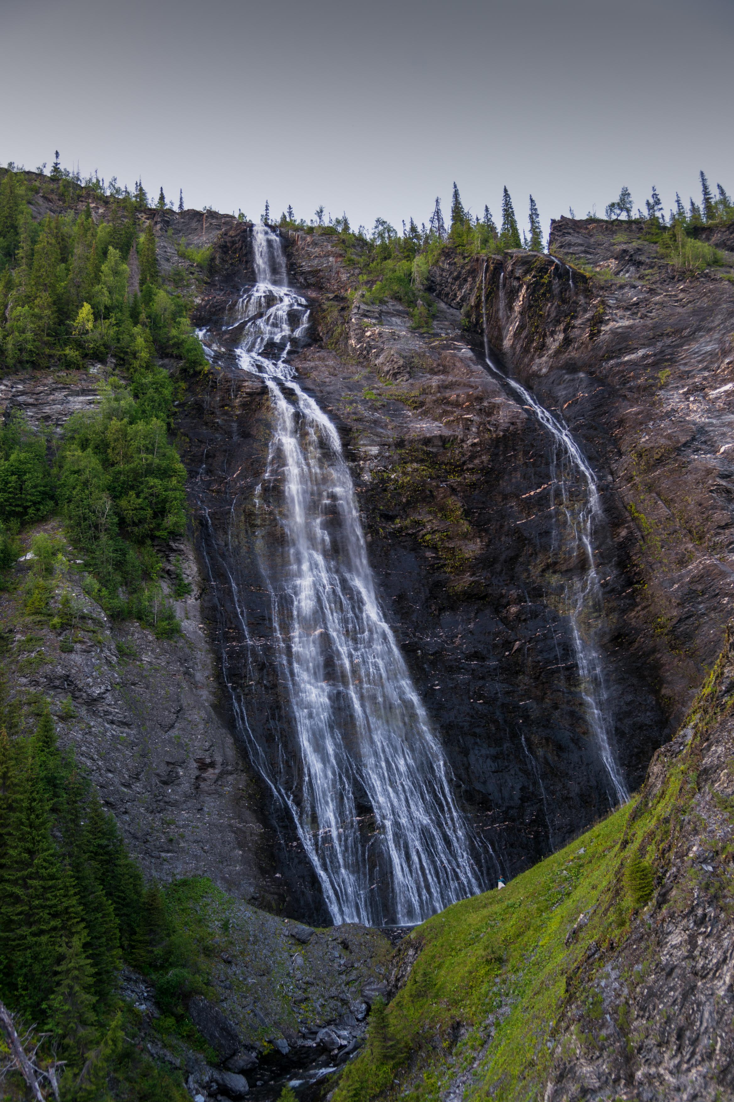 Hiking: Sisselfossen waterfall viewpoint