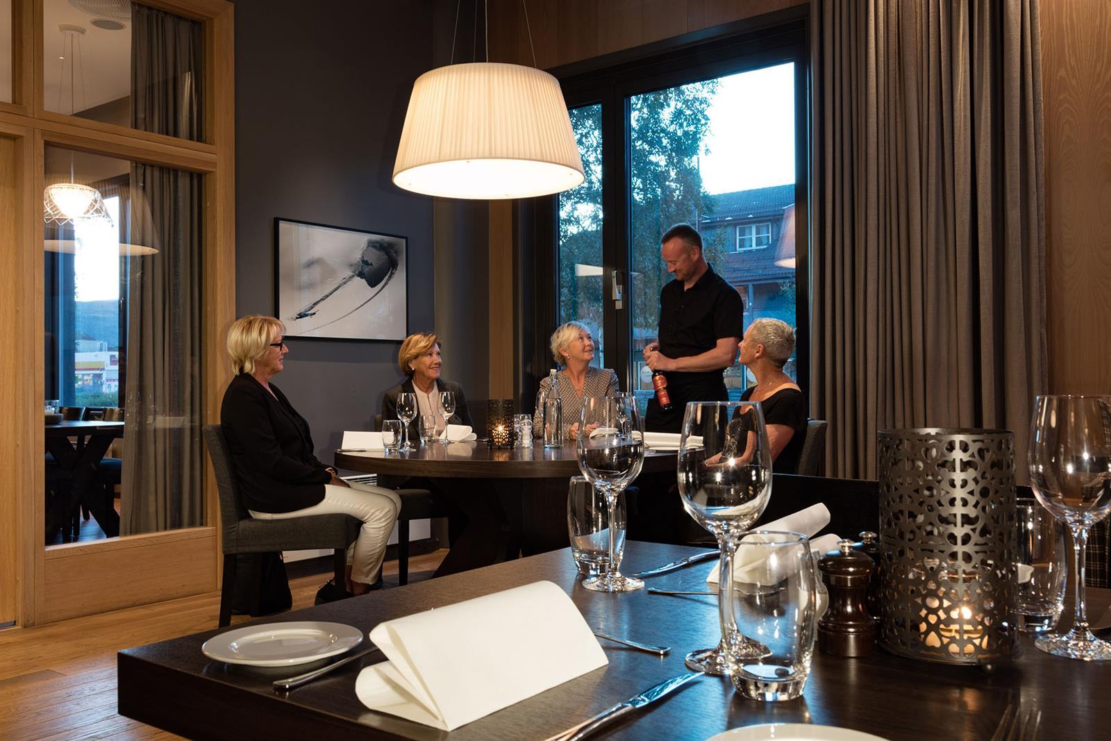 Quality Hotel Skifer, restaurant