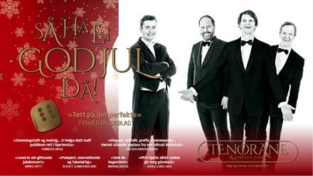"""Tenorane og Steffen Horn """"Så ha ei god jul, då!"""""""