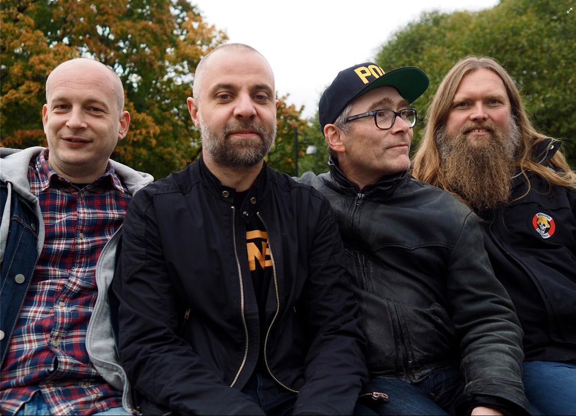 Senjahopen spiller på Rockeklubben i Porsgrunn
