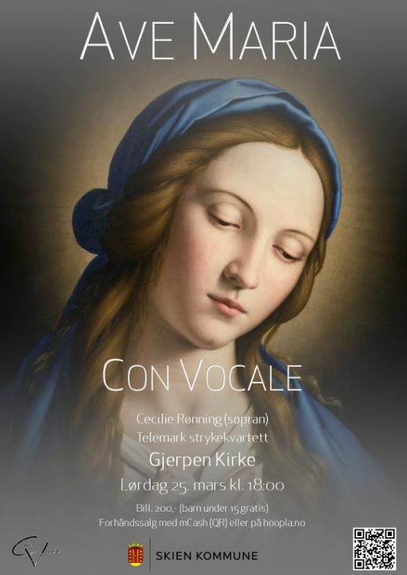 Ave Maria konsert i Gjerpen kirke