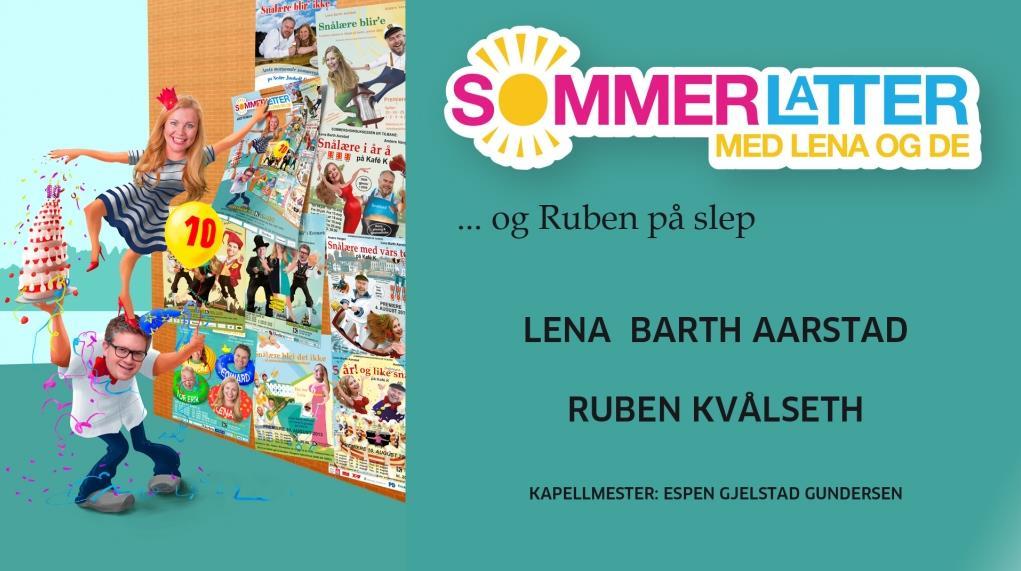 Sommerlatter med Lena og de på Kafe K