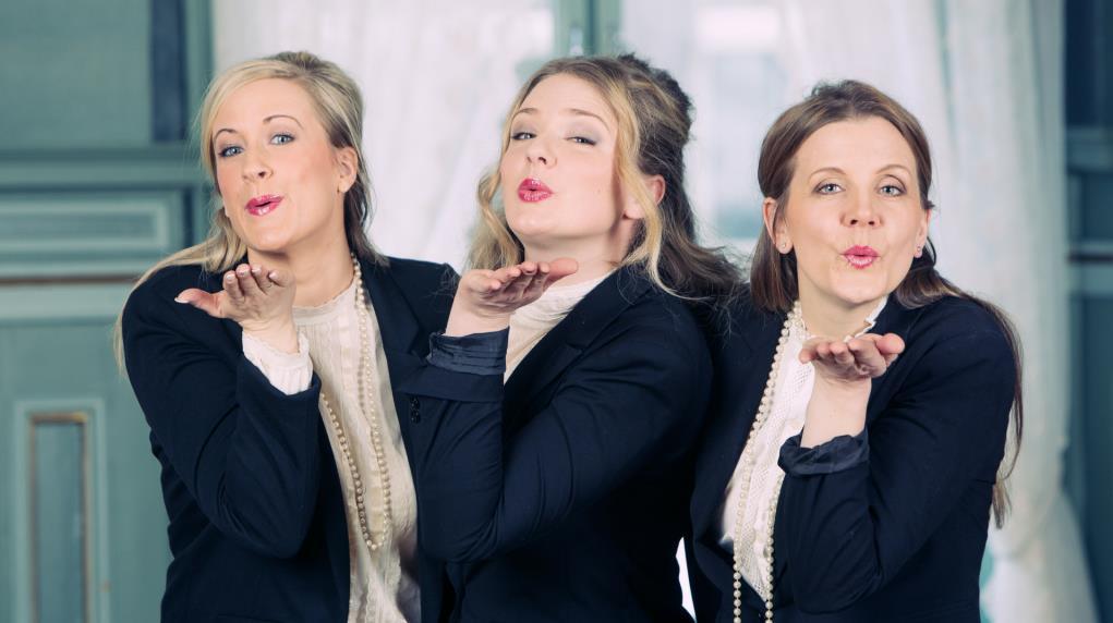 Tres Sopranos på Ælvespeilet i Porsgrunn