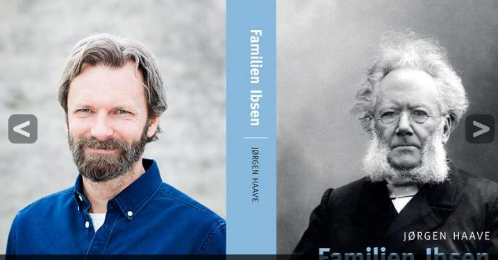 Boklansering Familien Ibsen på Lundetangen pub