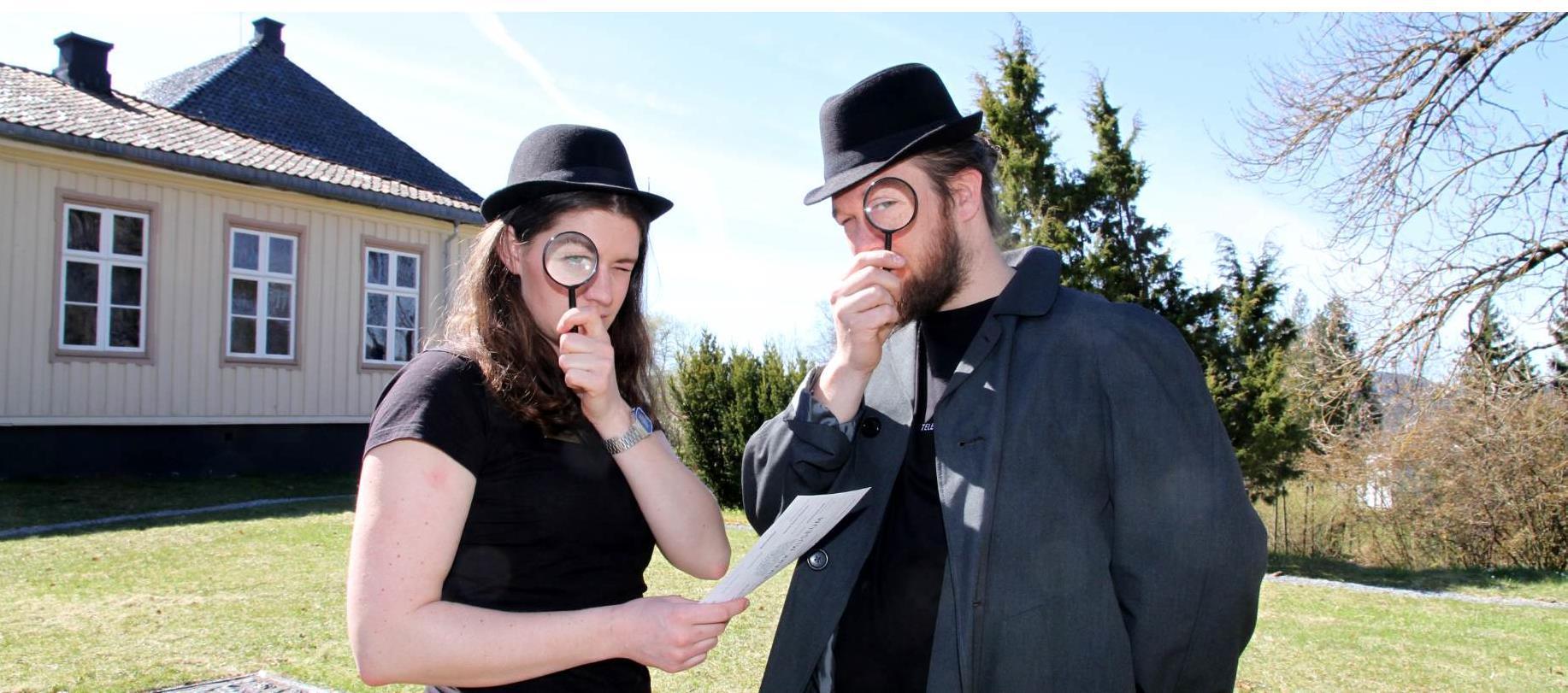Parkdetektiv i Brekkeparken