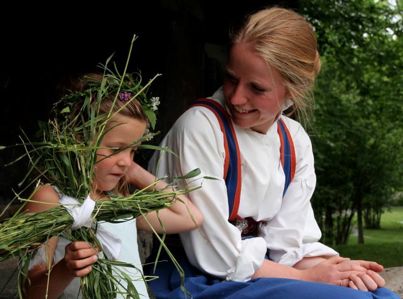 Eventyrstund i Lynnevik i Brekkeparken