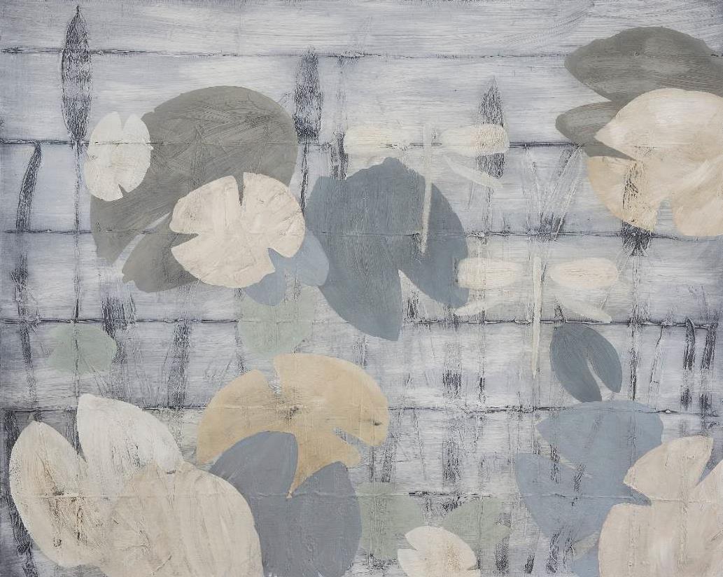 "Cathrine Knudsen utstilling på Galleri Osebro, © ""Vaniljeflyver"" - olje på lerret. Cathrine Knudsen"