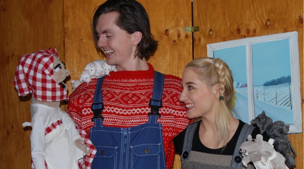 Barn i senterum: Jul med Prøysen