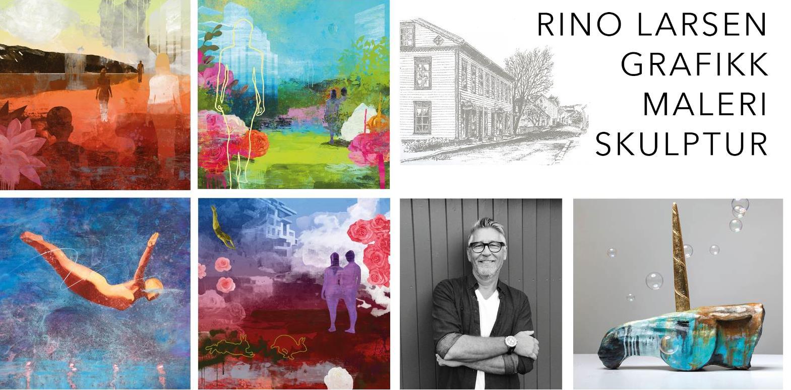 Utstilling med Rino Larsen