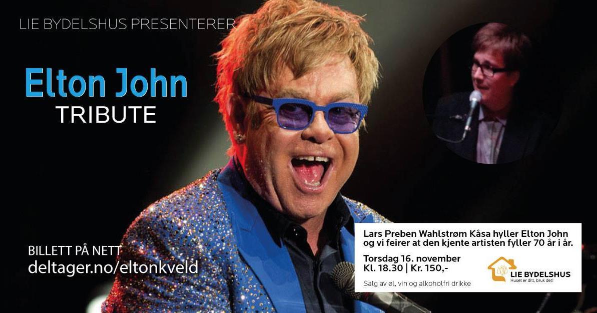 Elton John tribute, © Telemark Musikkråd