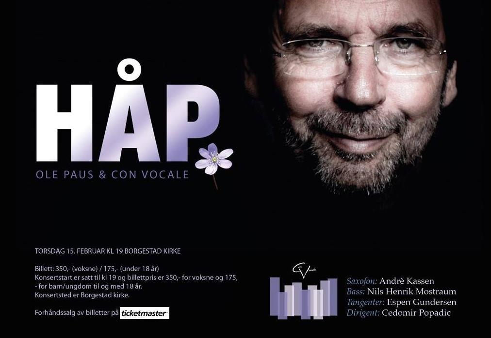 Håp - Con Vocale og Ole Paus