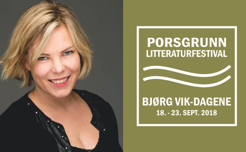 Porsgrunn litteraturfestival - Den sterke stemmen