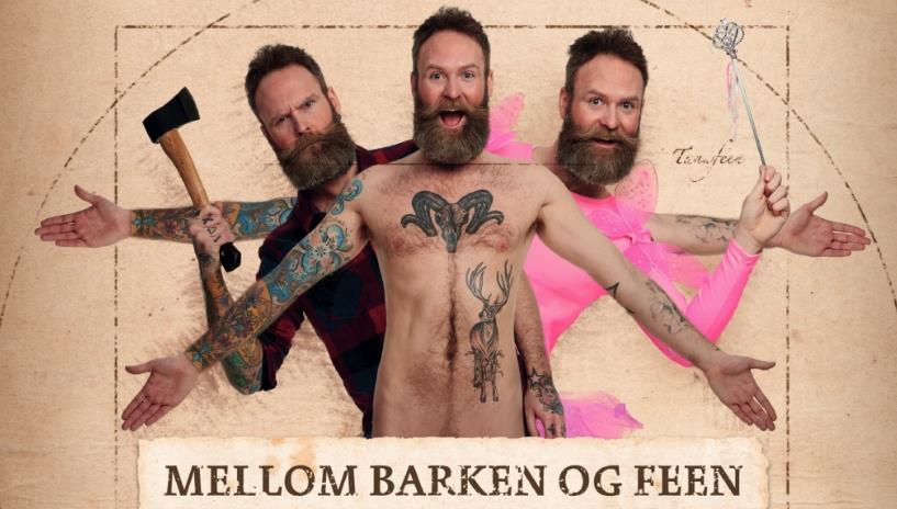 MELLOM BARKEN OG FEEN av og med Adam Schjølberg