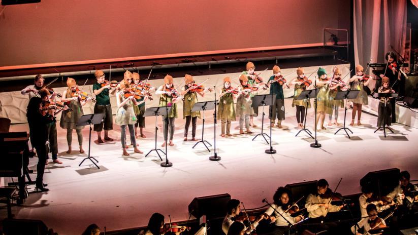Høstkonsert med kulturskoleorkestrene