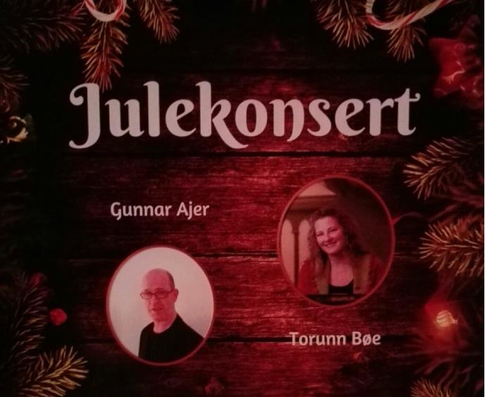 JULEKONSERT - Torunn Bøe og Gunnar Ajer