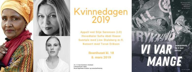Safia Abdi Haase, Torun Eriksen, Linn Stalsberg m.fl.