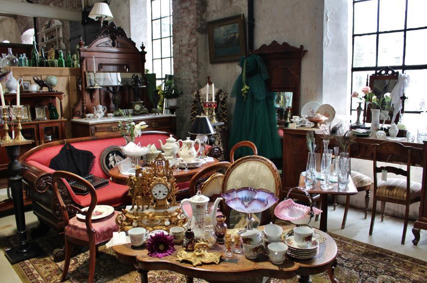 Antikke møbler, © Gamle Union Brug Antikk