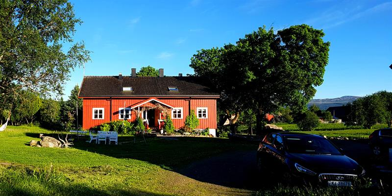 Gran Nordre farm in Snåsa: accommodation in the main house. Copyright: Gran Nordre