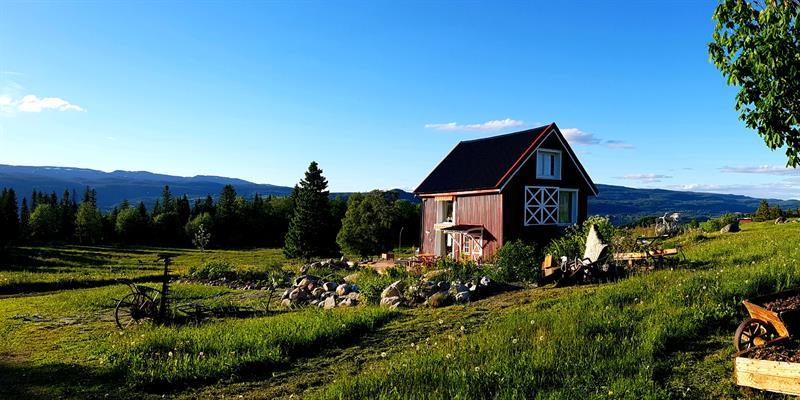 Gran Nordre in Snåsa: Vognbua accommodation. Copyright: Gran Nordre
