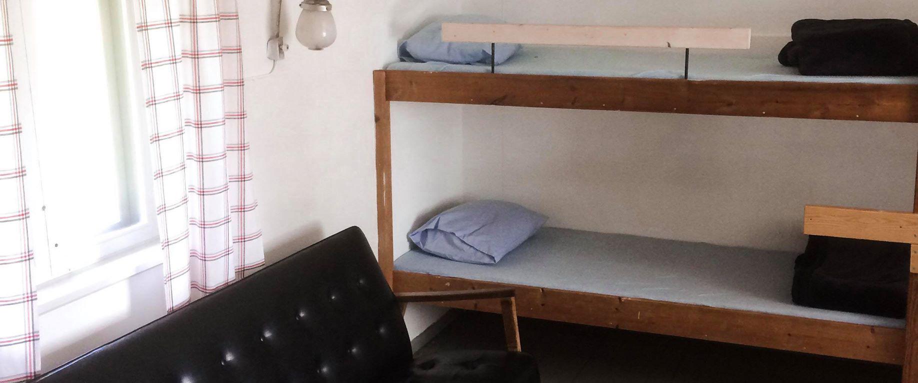 Sovrum på Baggen