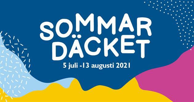 Logo Sommardäcket 2021, Piteå kommun