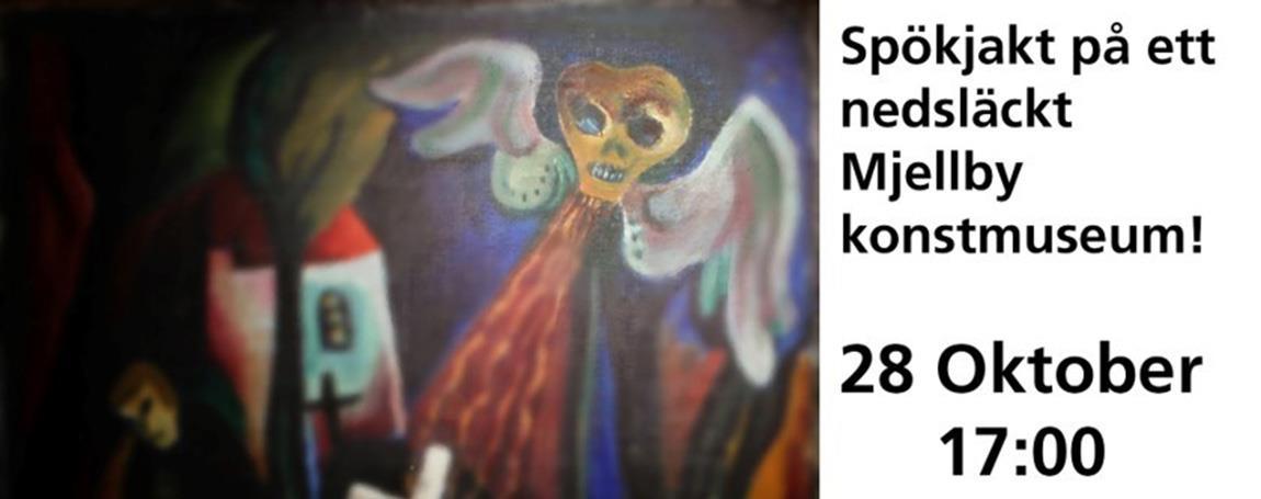 Spöknatt på Mjellby konstmuseum