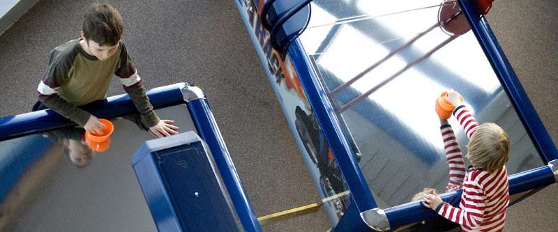 Lek pågår i Skeppet på Pite Havsbad