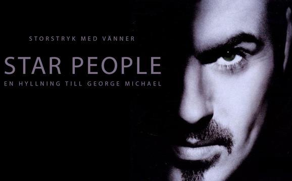 Storstryk med vänner hyllar George Michael