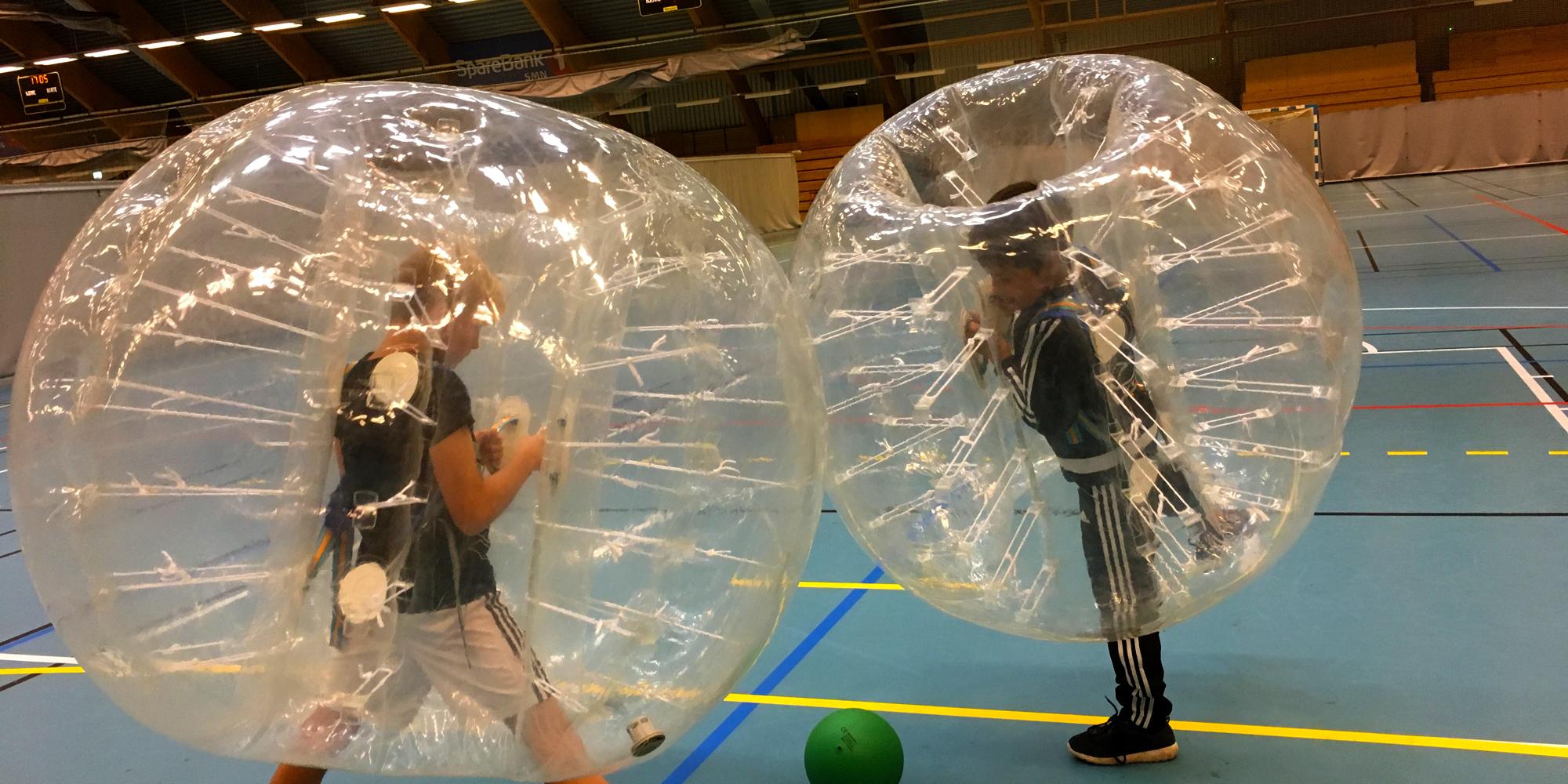 Bumperball i Steinkjerhallen