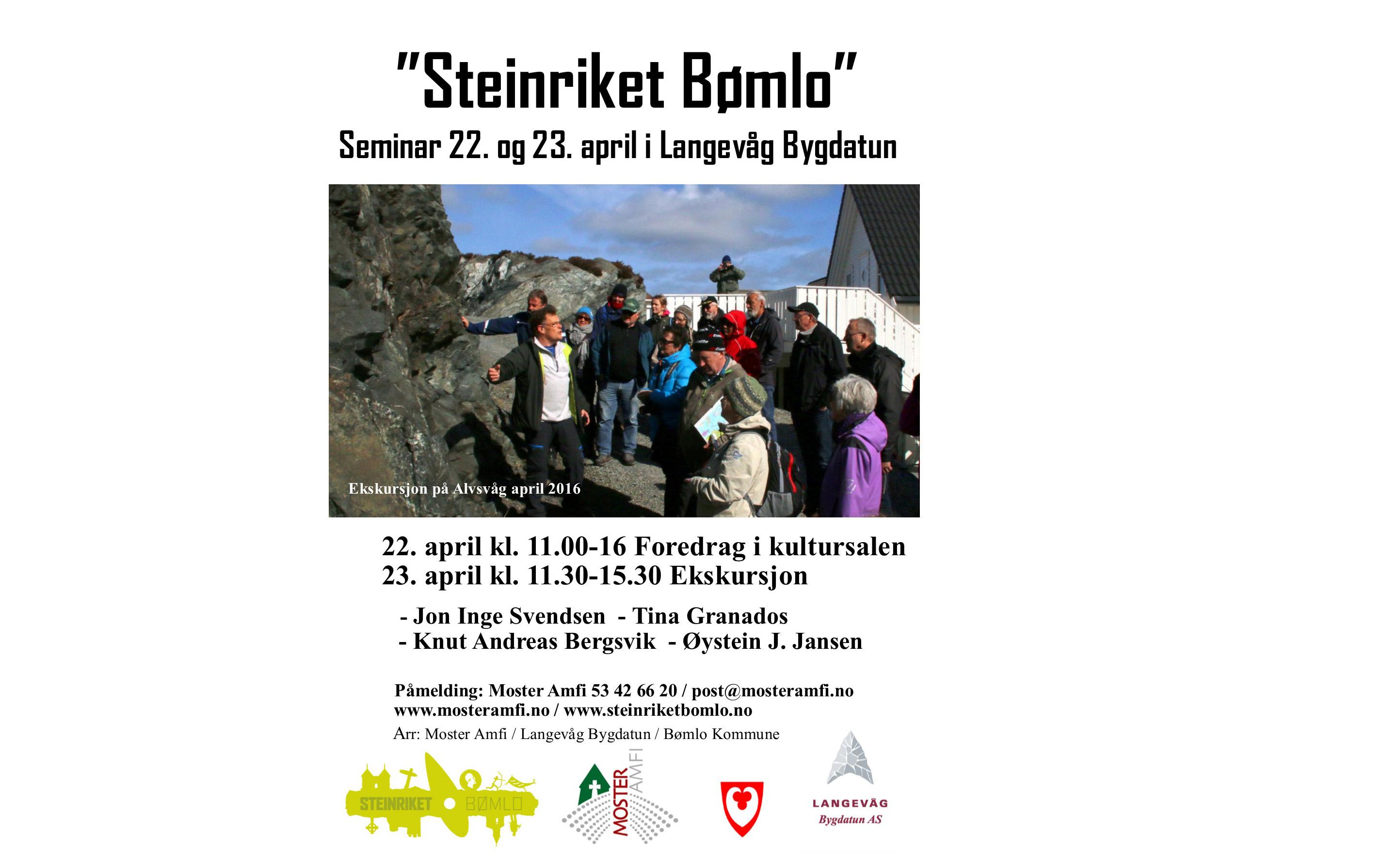 Steinriket Bømlo - seminar