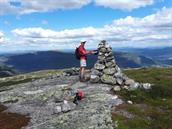 Topptur på Tjønnefjell 1065moh* 4 timar/10 km