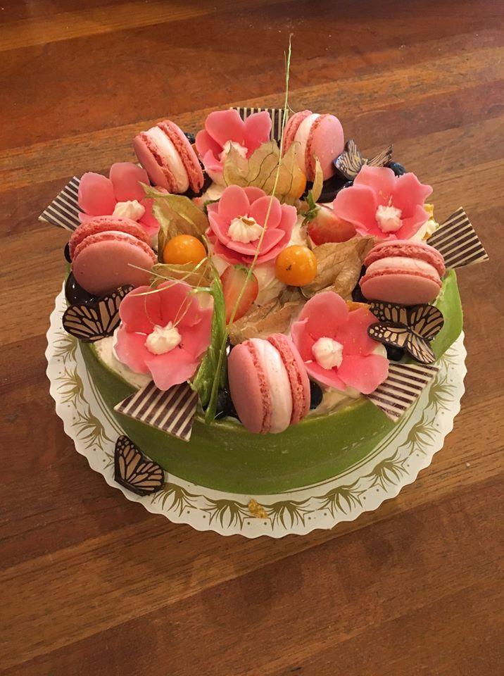Tårta makarons Ekbergs