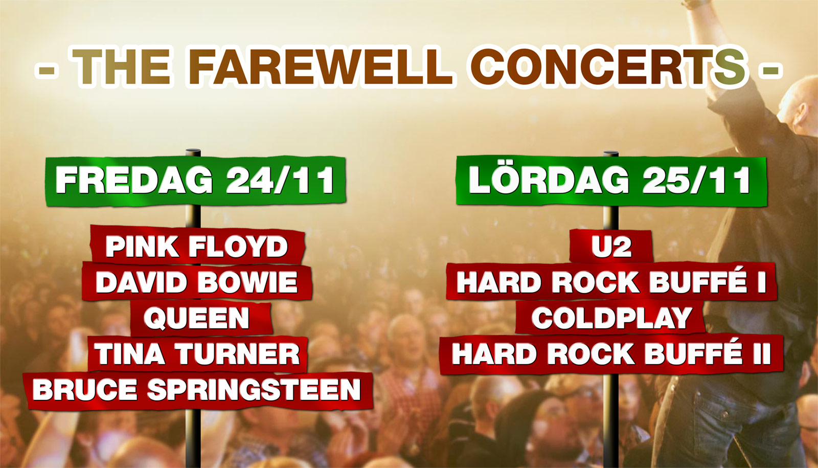 The farewell concerts GG