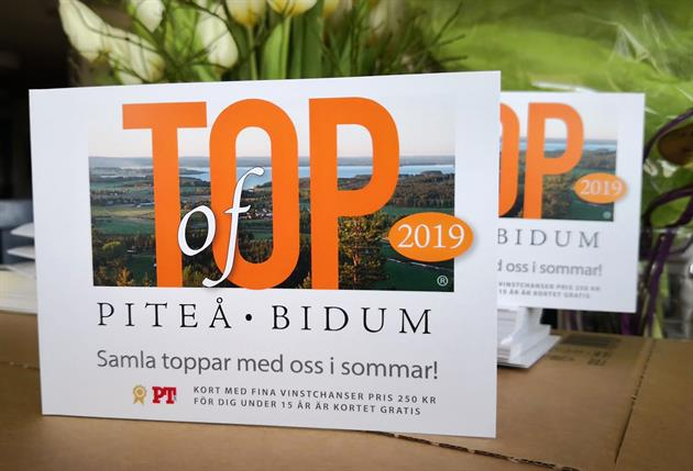 Top of Piteå kort