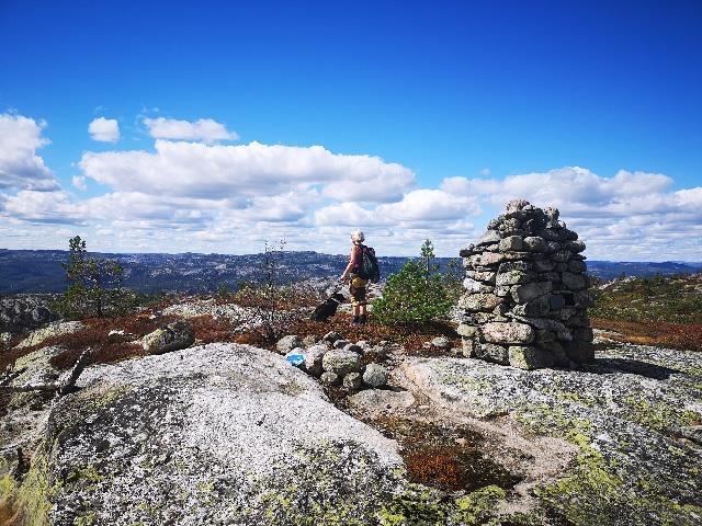 På toppen av Åbogsfjell