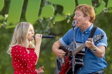 Endresens -  konsert med Tor Endresen og Anne-Sophie.