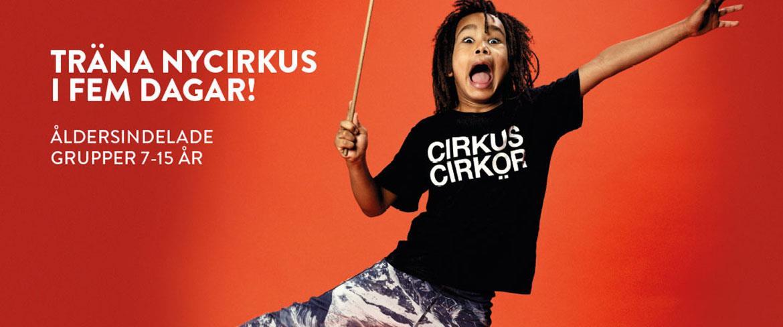 Träna med Cirkus Cirkör