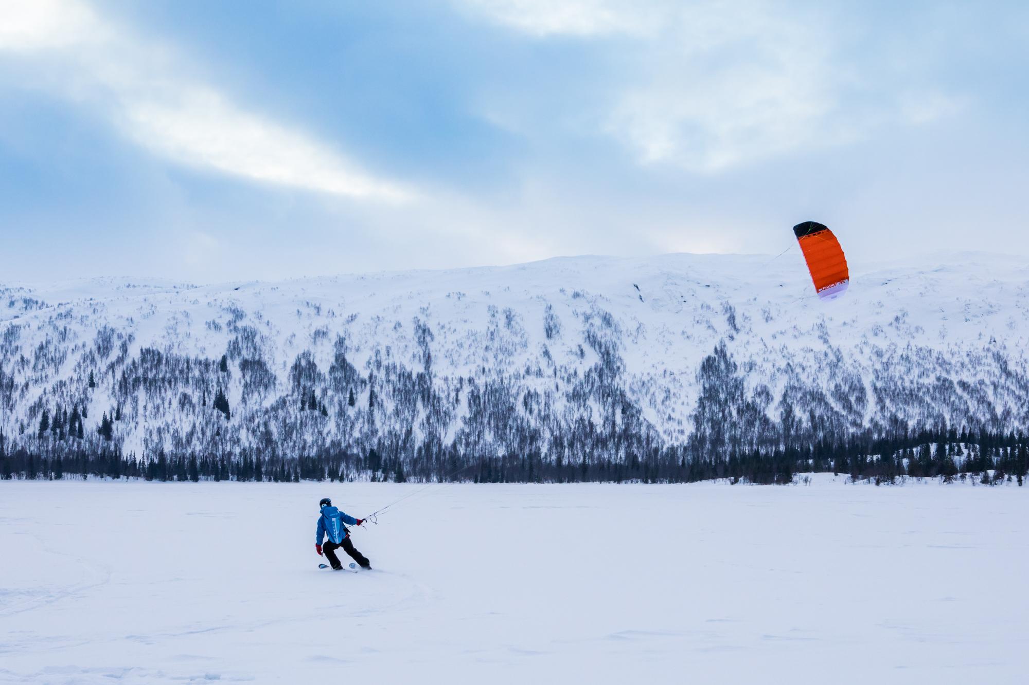 Kurs i Snøkiting - Tundra Tours