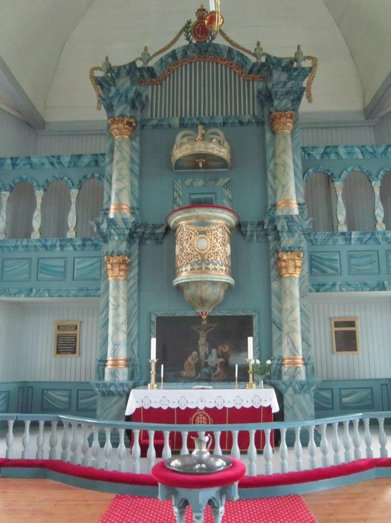 Tynset-kirke. Copyright: Norske kirkebygg