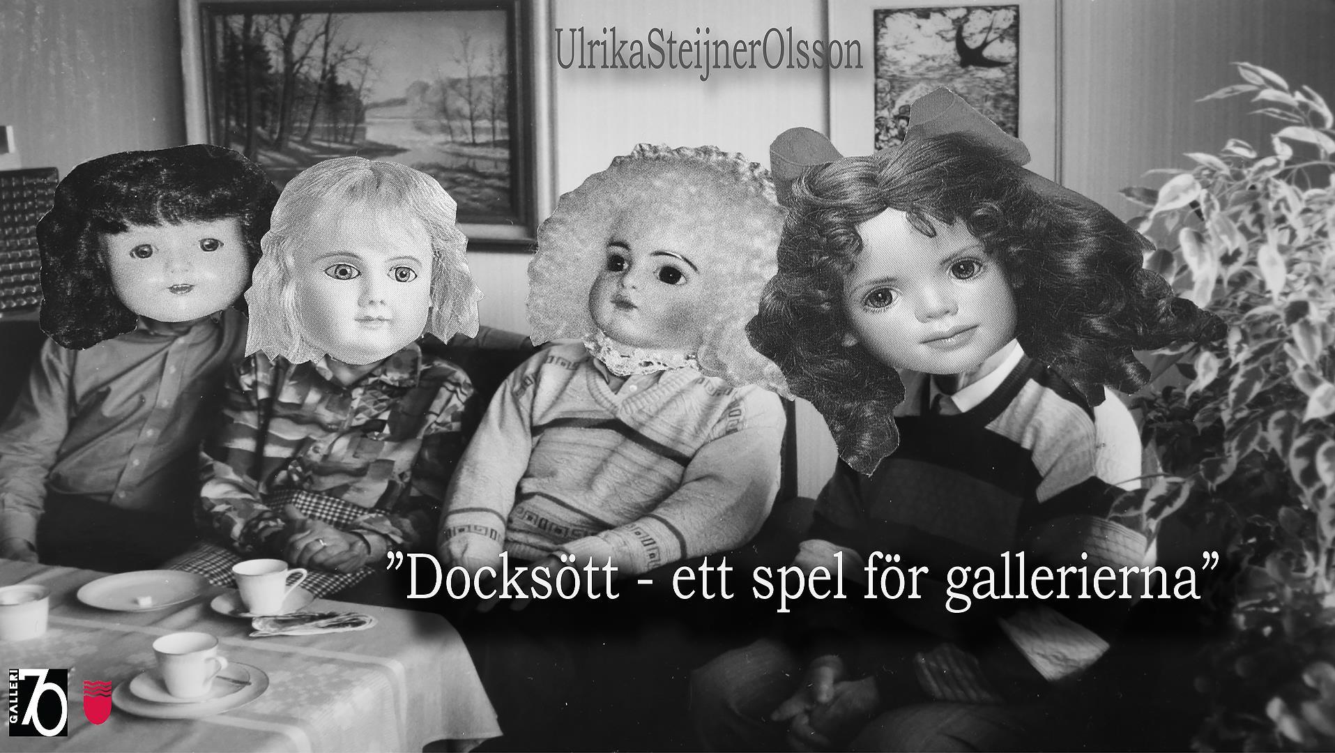 Ulrika Steijner Olsson i Lilla Galleriet på Galleri70